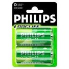 Batterie LONGLIFE 2er-Blister R20 (D)  - Philips